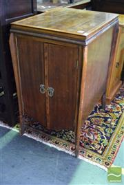 Sale 8532 - Lot 1397 - Music Cabinet Fitted With Shelves