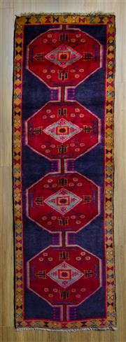 Sale 8559C - Lot 28 - Persian Gorawan Runner 234cm x 75cm