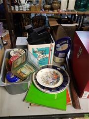 Sale 8563T - Lot 2471 - Polaroid Camera Together with Collection of Vintage Tins