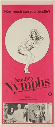 Sale 8822A - Lot 5113 - Naughty Nymphs - 76 x 34.5cm