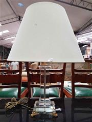 Sale 8912 - Lot 1004 - Modernist Perspex Table Lamp