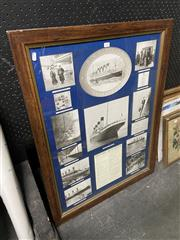 Sale 8914 - Lot 2099 - Titanic Decorative Print, and Another