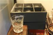 Sale 8116 - Lot 81 - Two Boxed Sets of Six Each Waterford Whiskey Tumblers