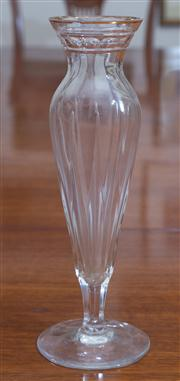 Sale 8435A - Lot 69 - A Waterford Marquis single rose vase