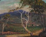 Sale 8907 - Lot 557 - Thomas Dean (1857 - 1947) - View over a Valley 38 x 48 cm