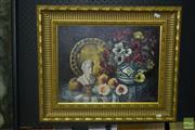 Sale 8522 - Lot 2035 - G.Gaeia, Still Life Oil on Board SLR, Sydney 2000
