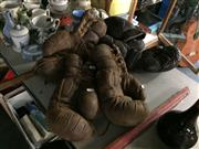 Sale 8659 - Lot 2236 - Vintage Boxing Gloves (7)