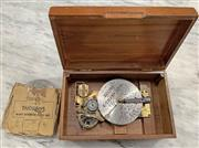 Sale 8951P - Lot 323 - Thorens Automatic Music Maker with 10 Discs in later box