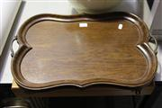 Sale 8116 - Lot 85 - 1960s/70s Hacker Stainless Canteen of Cutlery & Oak Butlers Tray