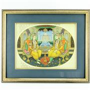 Sale 8252 - Lot 64 - Indian Painted Panel