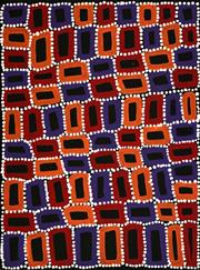 Sale 8316 - Lot 511 - Walala Tjapaltjarri (1960 - ) - Tingari 60 x 46cm (framed & ready to hang)