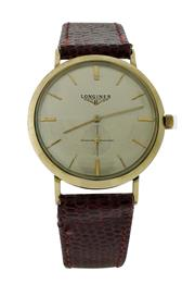 Sale 8406A - Lot 52 - Vintage Longines Admiral 1200 wristwatch, circa 1950-60s, manual wind, 33 mm, in working order