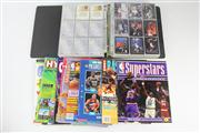 Sale 8445 - Lot 21 - Basketball Cards with Various Magazines