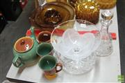 Sale 8478 - Lot 2242 - Collection of Denby Wares, Frosted Glass Bowl, Crystal Bowl & Decanter