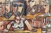 Sale 8859A - Lot 5024 - Pasquale Giardino (1961 - ) - The Bar (After Manet) 36.5 x 55cm