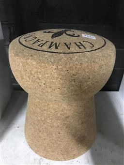 Sale 9101 - Lot 2116 - Oversized French made champagne cork