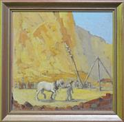 Sale 8015A - Lot 42 - DIXON COPES (1914 -) - Quarry 38 x 38 cm