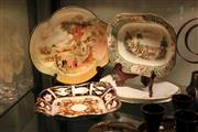 Sale 8261 - Lot 98 - Royal Crown Derby Footed Dish with Ceramics incl. Late Spode