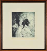 Sale 8330A - Lot 71 - Norman Lindsay (1879 - 1969) - Have Faith 27.5 x 24.5cm