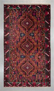 Sale 8499C - Lot 32 - Persian baluchi 216cm x 116cm
