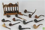 Sale 8543 - Lot 51 - Collection of Pipes & One Rack