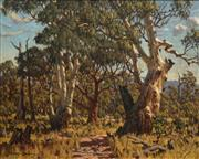 Sale 8692 - Lot 507 - Howard Barron (1900 - 1991) - Bushtrack, New South Wales 39.5 x 49.5cm