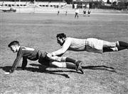 Sale 8754A - Lot 99 - Colin Windon - NSW Rugby Union, 1947 17 x 22cm
