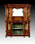 Sale 3691 - Lot 27 - A FINE GILLOWS MAHOGANY AND INLAID CABINET late 19th century