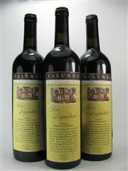 Sale 8238B - Lot 45 - 3x 2001 Yalumba The Signature Cabernet Shiraz, Barossa Valley