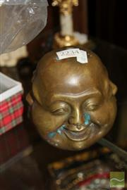 Sale 8236 - Lot 18 - Brass The Four Visages of the Buddha