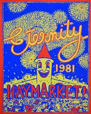 Sale 8256S - Lot 10 - Martin Sharp (1942 - 2013) - Eternity, Haymarket, 1981 88 x 65cm