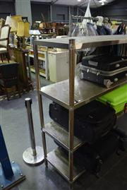 Sale 8346 - Lot 2107 - Stainless Steel Trolley