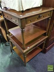 Sale 8495F - Lot 1072 - A Pair of Timber Side Tables