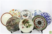 Sale 8546 - Lot 191 - Selection Of Various Cabinet Plates Incl Masons, Doulton And Minton