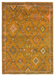 Sale 8725C - Lot 81 - An Indian Moroccan Design Carpet, Yellow, Hand-knotted Wool, 170x235, RRP $1,000