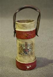 Sale 7968B - Lot 10 - French C19th leather shell carrier