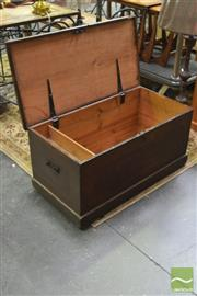 Sale 8289 - Lot 1019 - Rustic Lift Top Trunk