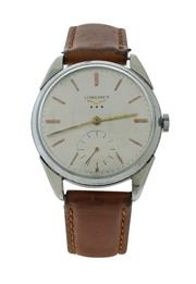 Sale 8406A - Lot 55 - Vintage Longines 3 star wristwatch, circa 1960s, calibre 30L,  hand winding, 34 mm, in working order