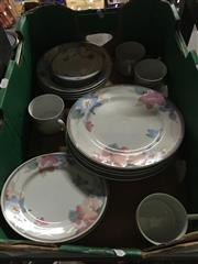 Sale 8759 - Lot 2190 - Dinner Set for Four