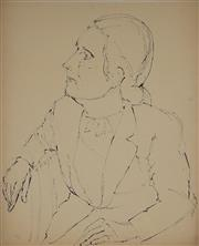 Sale 8908A - Lot 5029 - Desiderius Orban (1884 - 1986) - Portrait of Woman, 1953 61 x 49 cm