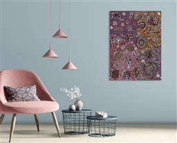 Sale 9148A - Lot 5011 - BELINDA GOLDER KNGWARREYE (1986 - ) Bush Yam Dreaming acrylic on canvas 96 x 72 cm (stretched and ready to hang) signed verso; certi...