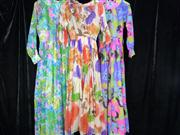 Sale 7982B - Lot 184 - One tea dress by Danica Couture (Size 10) adn two 1970s maxi dresses (8/10 - 10/12)