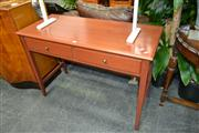 Sale 8156 - Lot 1042 - Two Drawer Hall Table