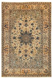 Sale 8715C - Lot 51 - A Persian Esfahan From Isfahan Region, 100% Wool Pile On Cotton Foundation, 307 x 206cm