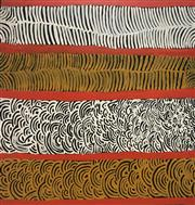 Sale 8723A - Lot 5050 - Netta Williams (c1952 - ) - Body Painting 93 x 97cm (stretched and ready to hang)