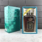 Sale 8950W - Lot 11 - 1x Suntory 12YO Crest Blended Japanese Whisky - limited edition SCD01 decanter bottling, in box
