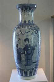 Sale 7876 - Lot 70 - Chinese Blue & White Floor Vase
