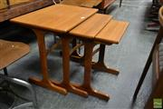 Sale 8511 - Lot 1016 - G-Plan Nest of Three Tables