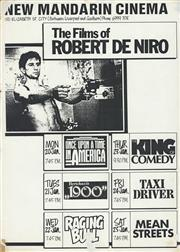 Sale 8766A - Lot 5021 - The Films of Robert De Niro - screenprint