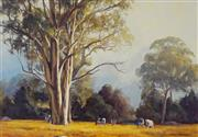 Sale 8992 - Lot 504 - John McCartin (1954 - ) - The Clearing 43.5 x 64 cm (frame: 65 x 85 x 4 cm)